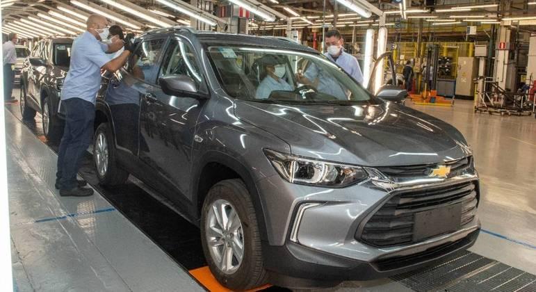 Fábrica de São Caetano do Sul produz cinco modelos diferentes na mesma linha de montagem