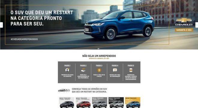 Visual e jornada do cliente com a identidade da GM são mantidos na plataforma do Mercado Livre
