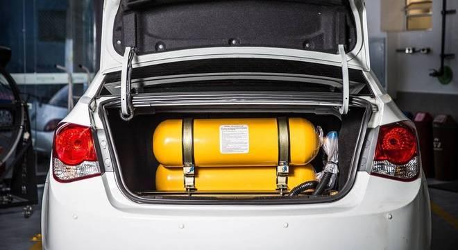 Brasil tinha no fim de 2018 cerca de 2,2 milhões de carros adaptados para o GNV