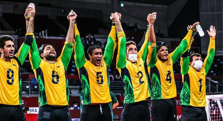 Ouro para o Goalball do Brasil