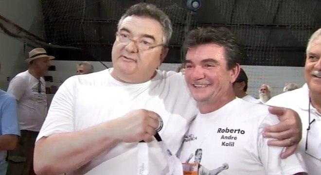Gobbi e Andrés. Tudo muda muito rápido no Corinthians