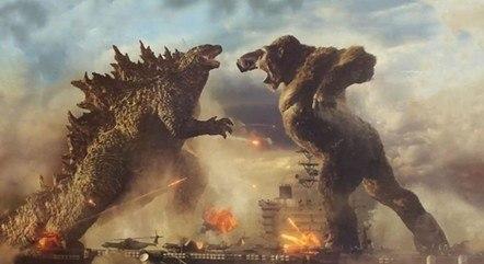'Godzilla versus King Kong' liderou bilheteria