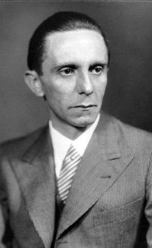 Joseph Goebbels, ministro de Hitler