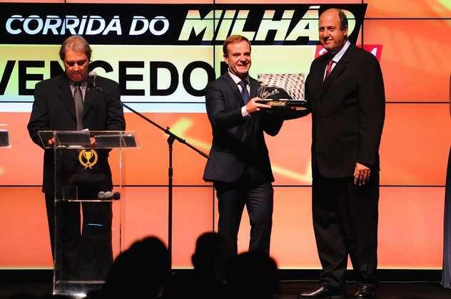 Goiânia recebeu a Corrida do Milhão de 2014 e Rubens Barrichello, que seria o campeão daquele ano, levou a prova