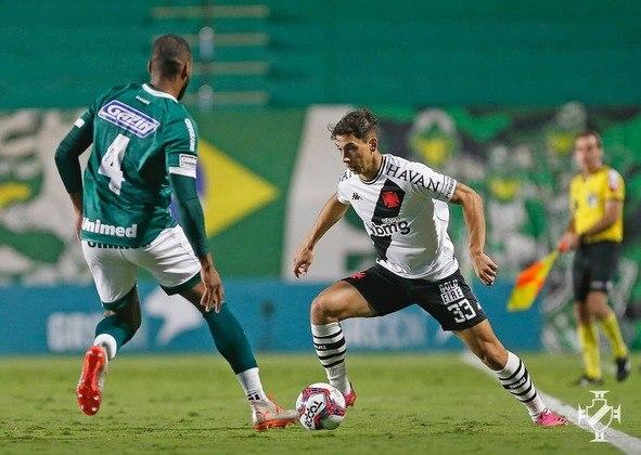 Goiás: cenário 1 (sem transferências de atletas) - Receitas: R$ 42 milhões - Folha salarial: R$ 54 milhões - Receitas x Folha (em %): 127% - Conclusão: acima do fair play financeiro.