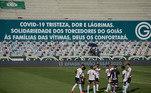 Goiás x São Paulo, jogo adiado covid-19,