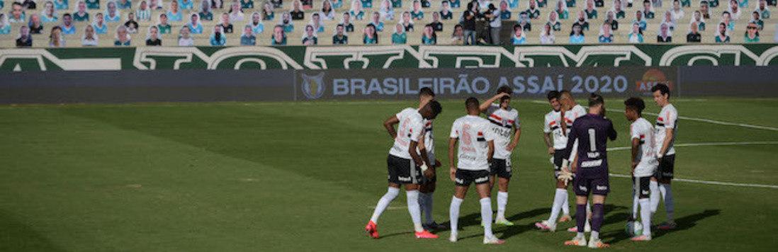100 mil mortes não adiantaram. CBF brinca com a covid-19 (Edu Andrade/Estadão Conteúdo - 9.8.2020)