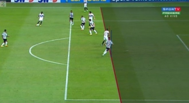 Gol anulado - Atlético-MG x São Paulo