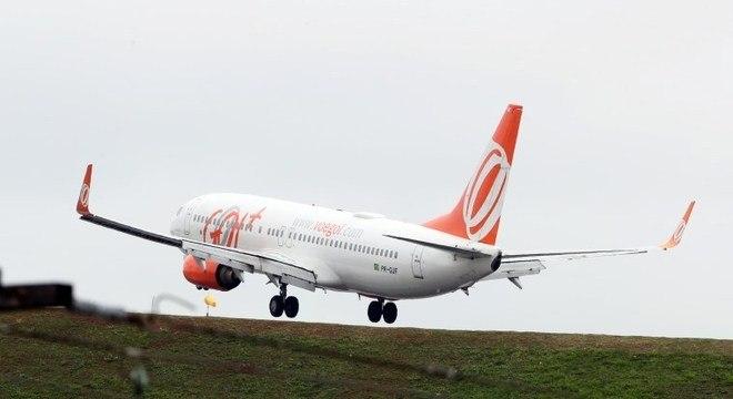 Gol anunciou suspensão temporária dos voos com o Boeing 737 MAX 8