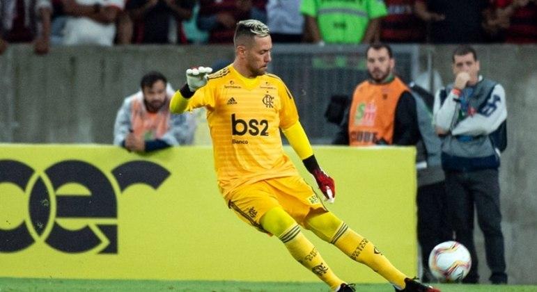 Goleiro: Diego Alves (Flamengo)