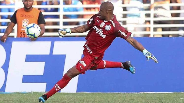 Goleiro: Jaílson - Idade: 40 anos - Clube: Palmeiras