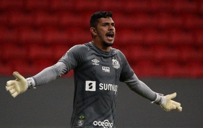 Goleiro: João Paulo (Santos).