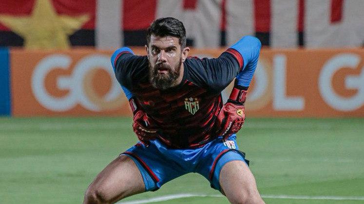 Goleiro reserva: Fernando Miguel (Atlético-GO) - quatro votos.