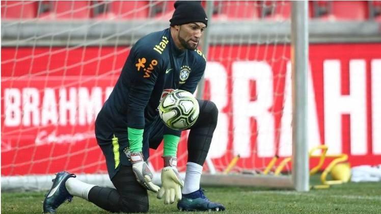 Goleiro: Weverton, 33 anos - Palmeiras (BRA).