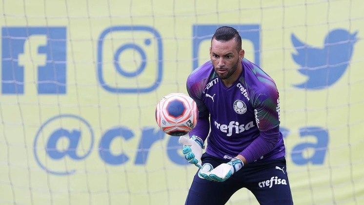 Goleiro: Weverton (Palmeiras) - 5 milhões de euros (R$ 31,5 milhões) / Diego Alves (Flamengo) - 1,5 milhão de euros (R$ 9,4 milhões).