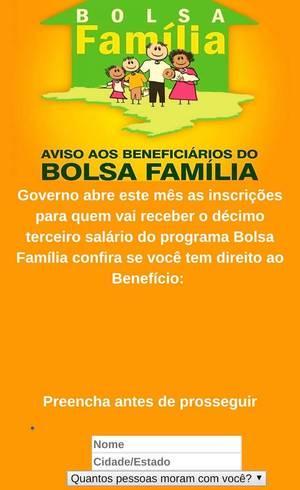 Golpe do Bolsa Família no WhatsApp