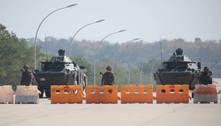 Junta Militar bloqueia internet em Mianmar para impedir protestos