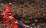 A polícia iniciou essa linha de investigação após achar um pé em estado de putrefação em uma praia