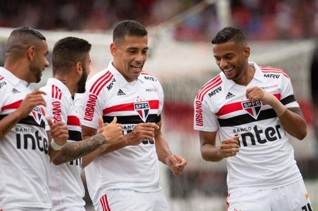 Gols: Diego Souza e Helinho (SAO); Uribe e Rodinei (FLA)