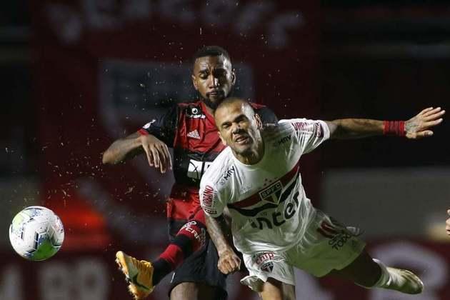 Gols: Luciano e Pablo (SAO); Bruno Henrique (FLA)