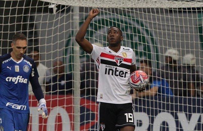 Gonzalo Carneiro (26 anos) - Atacante - Sem time desde abril de 2021 - Último clube: São Paulo - Valor de mercado: 700 mil euros (R$ 4,3 milhões)