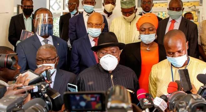 Ex-presidente da Nigéria, Goodluck Jonathan integra equipe de negociação com o Mali