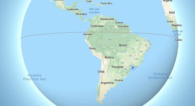 Google Maps agora representa a Terra como uma esfera e não como um plano
