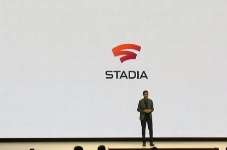 CEO do Google, Sundar Pichai, no lançamento do Stadia