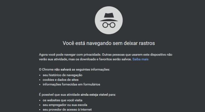 Google corrige falha que permitia sites identificar a navegação anônima