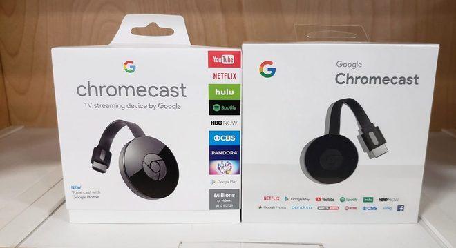 Google Chromecast 3 por apenas R$ 298,92 na CissaMagazine.com.br