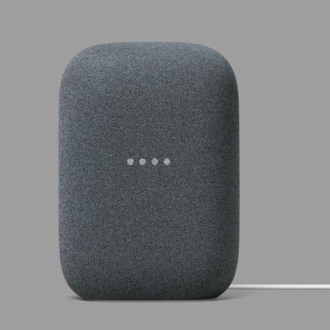 Google Nest Audio é feito com plástico reciclado e tecido de garrafa pet