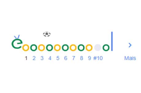google faz homenagem aos 80 ano de Pelé