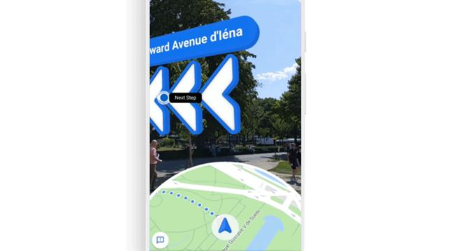 O Google Maps anunciou o recurso de realidade aumentada para rotas a pé