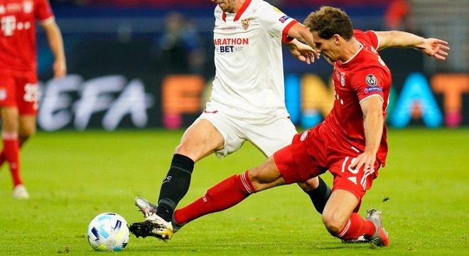 O arremate de Goretska, Bayern 1 X 1 Sevilla