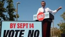 Califórnia faz, na terça, votação para decidir futuro de Governador