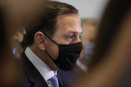 Na imagem, governador João Doria (PSDB)