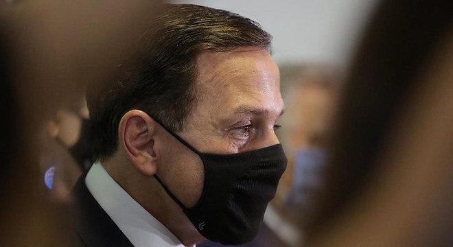 João Doria, governador de SP, esteve em Brasília nesta quarta-feira (21)