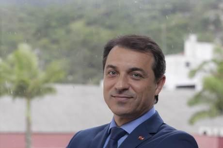 O governador de Santa Catarina, Carlos Moisés da Silva