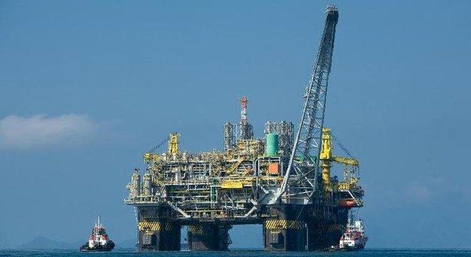 Plataforma de petróleo; novo leilão alcançou valou recorde