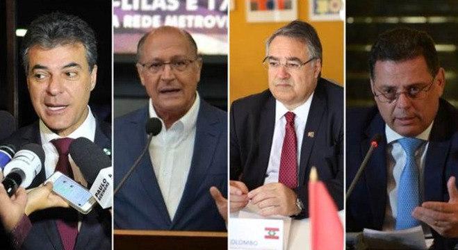 Beto Richa, Gerlado Alckmin, Raimundo Colombo e Marconi Perillo perderam foro privilegiado