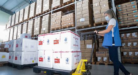 Governo de SC recebeu lotes de vacina nesta quarta-feira (24)