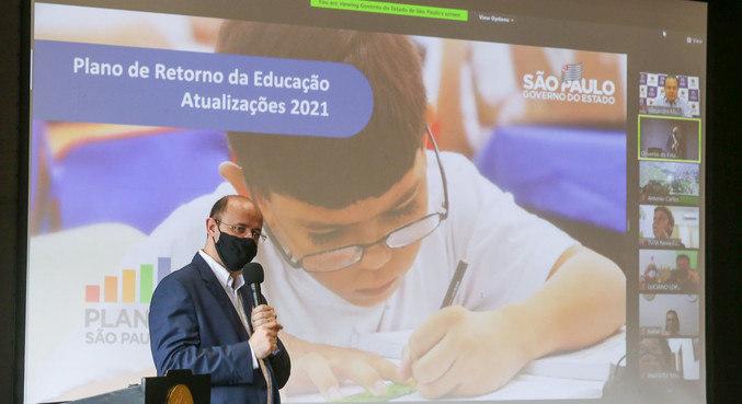 Secretario Rossieli Soares mantém planejamento de retomada às aulas presenciais
