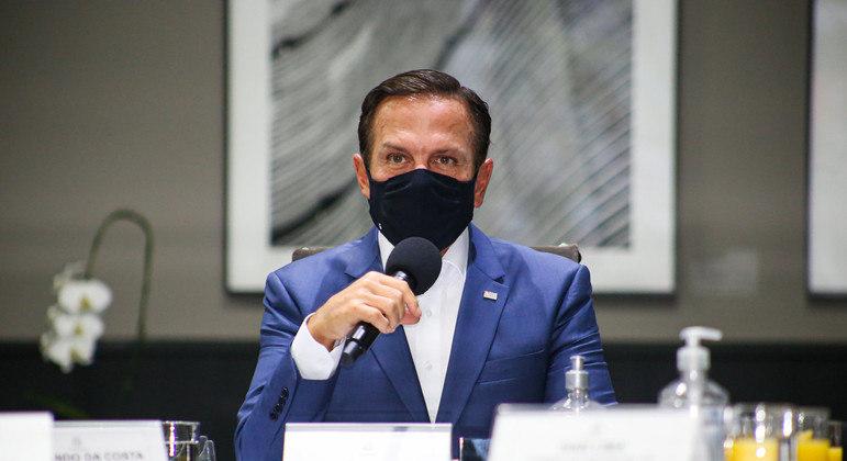 """Doria disse que mesmo com crise provocada por pandemia, """"SP não quebra"""""""
