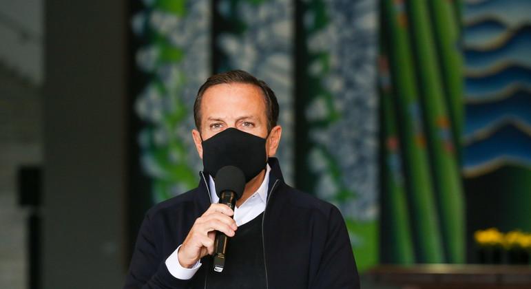 Governador João Doria confirma cirurgia de hérnia para o dia 6 de agosto