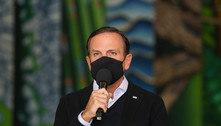 Liberar uso de máscara é 'ato de irresponsabilidade', afirma Doria