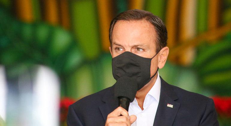 """""""Somos radicalmente contra"""", diz Doria sobre PL que reduz poder de Estados sobre policias"""