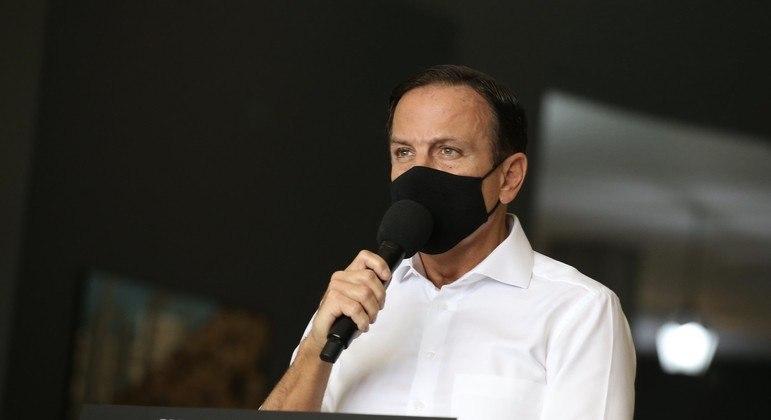 Pelo menos 54 municípios paulistas estão em estado crítico de abastecimento de oxigênio