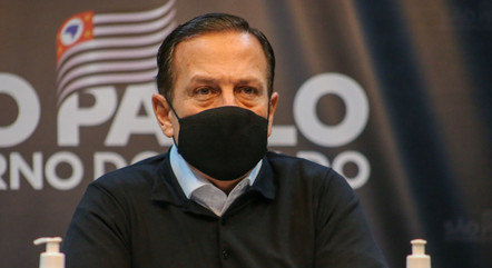 Na imagem, governador João Doria (São Paulo)