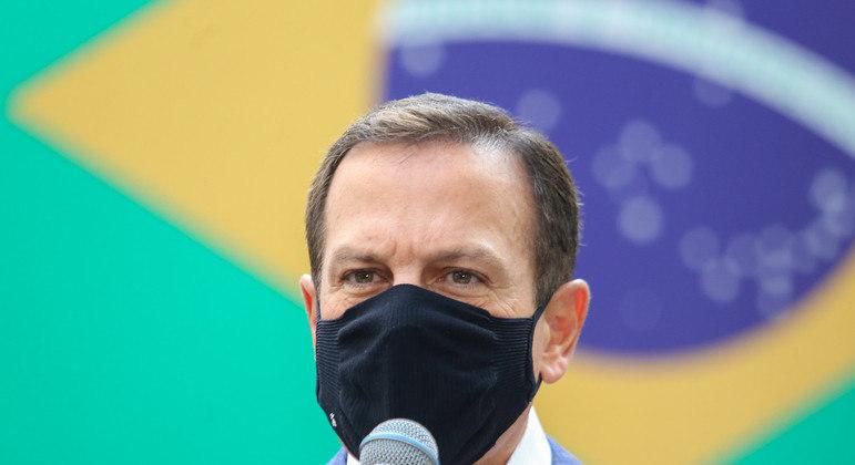 Doria alertou outro governadores para o risco de militarização dos atos