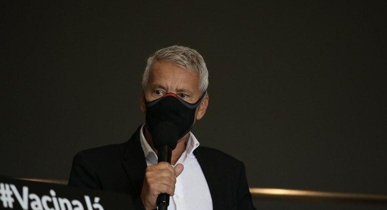 O coordenador executivo do Centro de Contingência da Covid-19, João Gabbardo